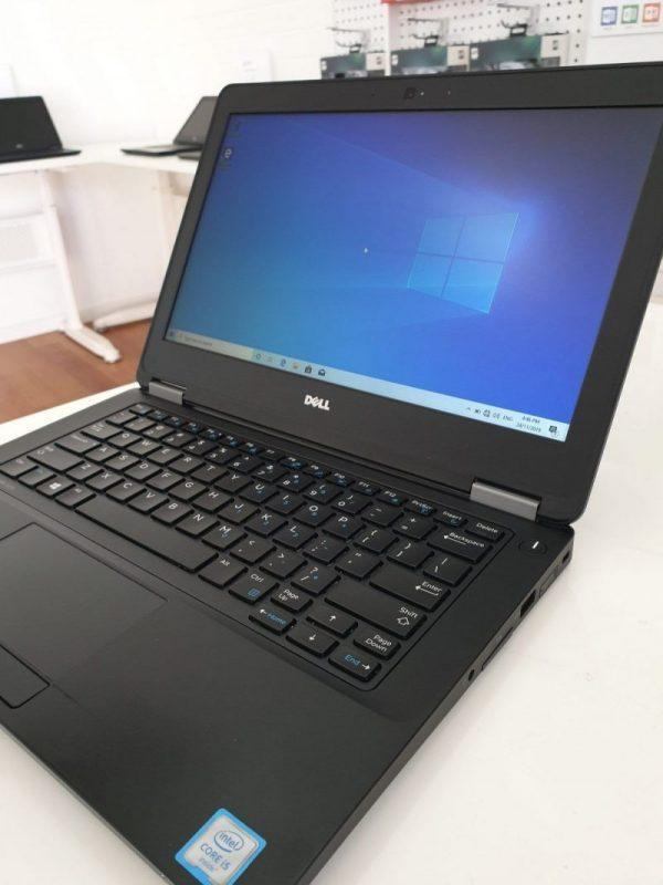 Refurbished Dell Latitude e5270 laptop closeup side