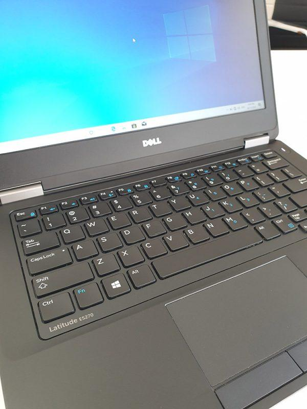 Refurbished Dell Latitude e5270 laptop closeup Front