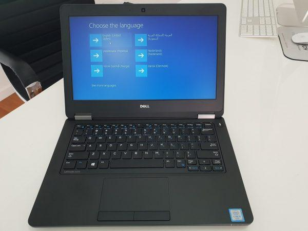 Refurbished Dell Latitude e5270 laptop front