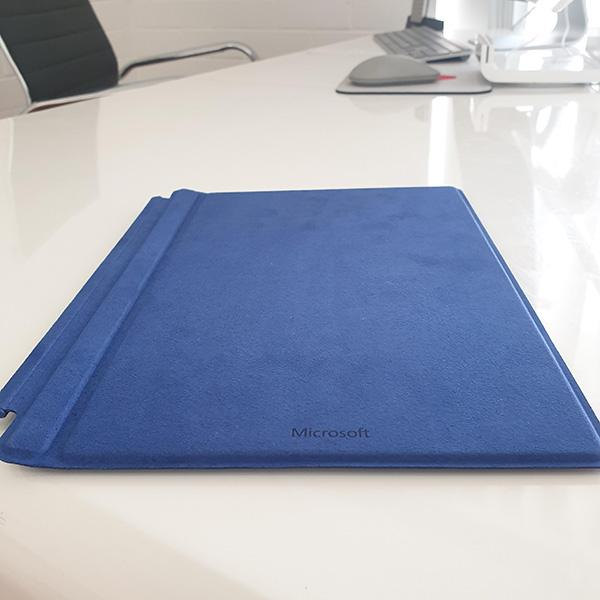 Microsoft Surface 3 Type Cover Blue back view