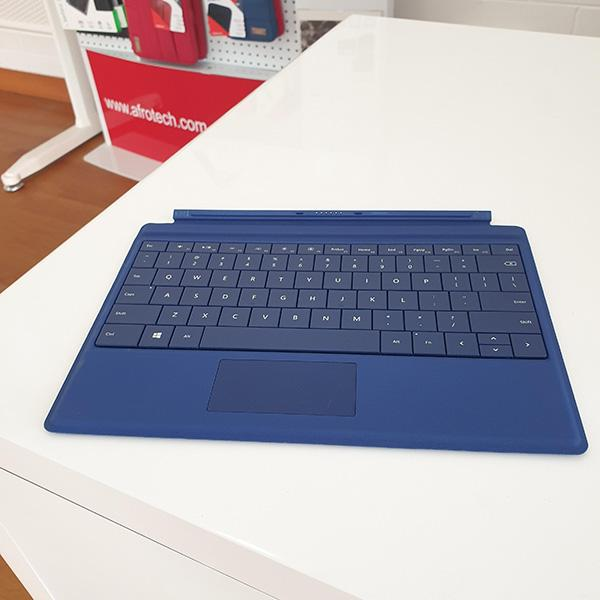 Microsoft Surface 3 Type Cover Blue top view