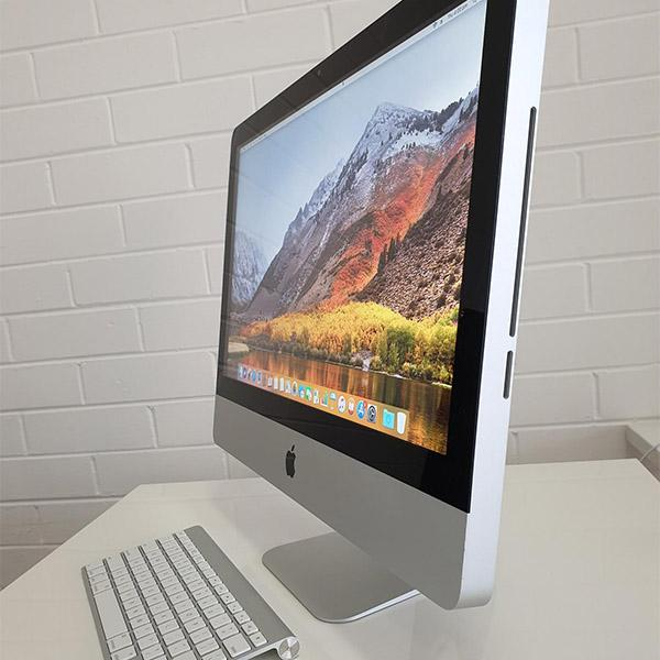 "Refurbished Apple iMac 21.5"" side view"