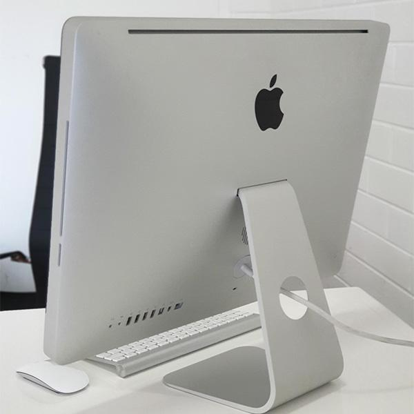 "Refurbished Apple iMac 21.5"" 2010 Back view"