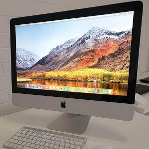 "Refurbished Apple iMac 21.5"" 2010 Front view"