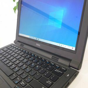 Refurbished Dell Latitude 3160 Touchscreen laptop closeup front