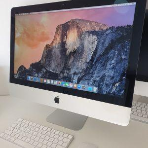 "Refurbished Apple iMac 21.5"" 2013 front"